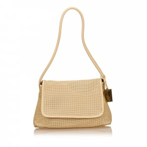 Gucci Perforated Leather Shoulder Bag