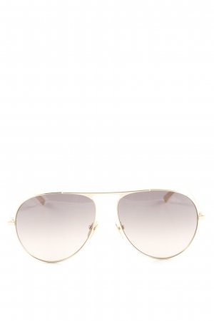 "Gucci Aviator Glasses ""GG0334S 001 60"" gold-colored"