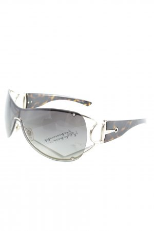 Gucci Aviator Glasses black brown-brown business style