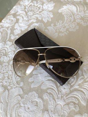 Gucci Pilotenbrille weiß