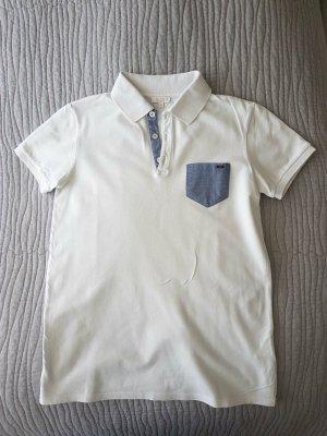 Gucci Polo Shirt TShirt weiß Gr. S