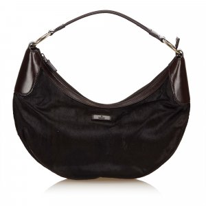 Gucci Pony Hair Hobo Bag