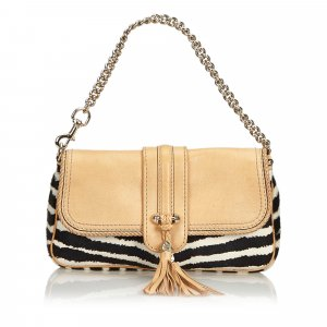 Gucci Pony Hair Marrakech Shoulder Bag