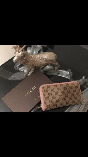 Gucci Portemonnaie, rosa, Geldbörse, Neu, extravagant