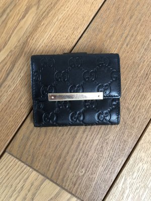 Gucci Portemonnaie, schwarz