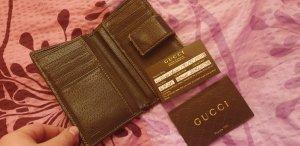 Gucci Portmornee braun beige mit Gebrauchsspuren