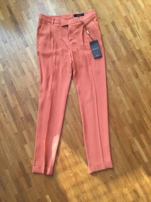 Gucci Low-Rise Trousers dark orange rayon