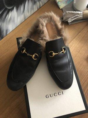 Gucci Princetown schwarz