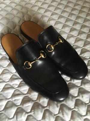 Gucci Princetown Slipper in schwarz - nur zweimal getragen
