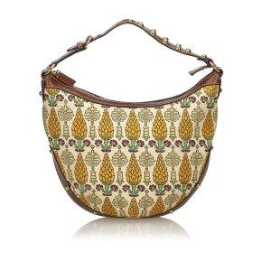 Gucci Printed Cotton Hobo Bag