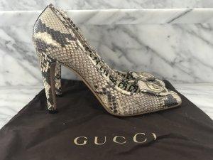 Gucci Pumps aus Schlangenleder NEU