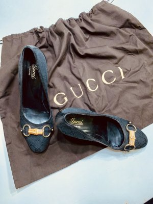 Gucci Pumps Bamboo Black