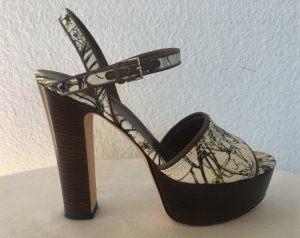Gucci, Pumps Canvas Flora, 38,5, neuwertig,€ 650,-