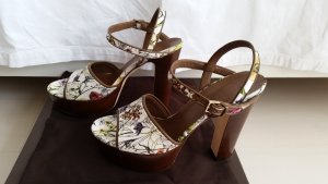 Gucci, Pumps, Canvas Flora, Gr. 39, neu, € 690,-