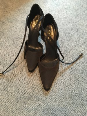 Gucci Pumps, High Heels, schwarz, 39