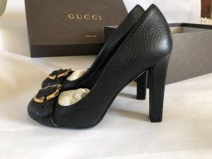 Gucci Talons hauts noir cuir