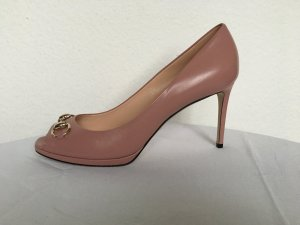 Gucci, Pumps, Leder, carmine rose, EUR 41,5, neu