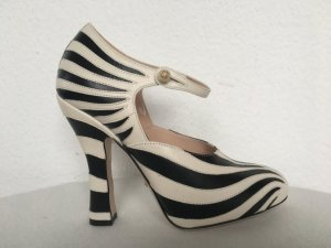 Gucci, Pumps, Leder, mystic white/nero, 38, neu, € 790,-