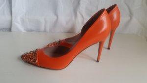 Gucci, Pumps, orange, 39, neu, RRP € 650,-