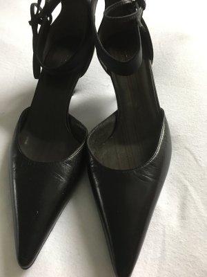 GUCCI Pumps Schwarz Leder Größe 35,5