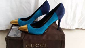 Gucci, Pumps, Veloursleder, Glow Light, Gr. 39, neu, € 590,-