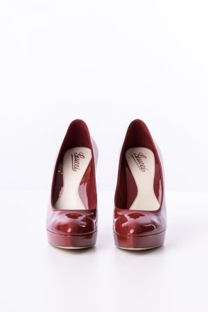 GUCCI - Pumps Vitello Vernice Soft Rot