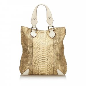 Gucci Python Creole Tote Bag