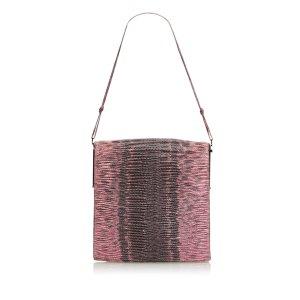 Gucci Borsa a tracolla rosa pallido Pelle di rettile