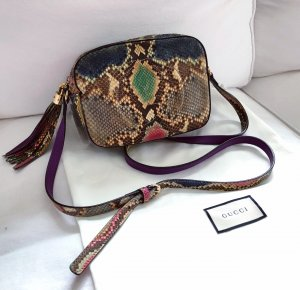 Gucci Python Soho Camera Bag Crossbody Bandouliere