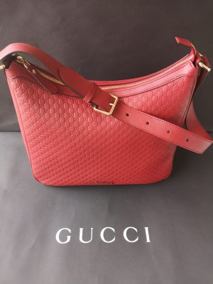 GUCCI red micro GG Hobo Handbag UVP 1250 Euro