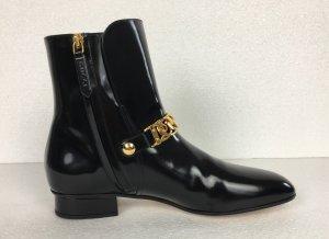 Gucci, Regent Boots, Lackleder, schwarz, 38, neu, € 1.000,-