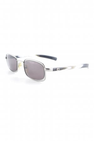 Gucci Retro Brille abstrakter Druck Street-Fashion-Look