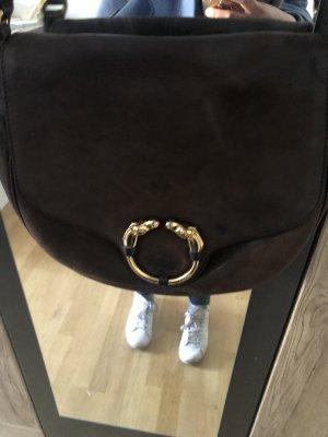 Gucci Borsetta marrone-nero-oro Pelle
