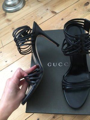 Gucci Riemchen Sandalen, 37,5