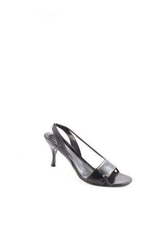 Gucci Riemchen-Sandaletten schwarz klassischer Stil