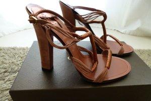 Gucci, Riemchenpumps, bronze/rosa, Gr. 39, neu, NP: € 620,-