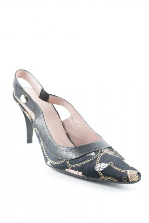 Gucci Strapped pumps multicolored vintage look