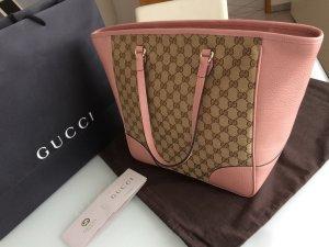 Gucci Rosa Monogram Handtasche (Rechnung vorhanden)