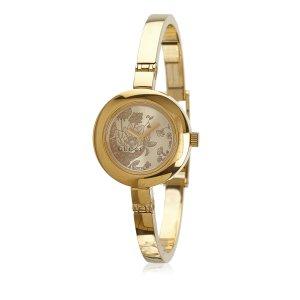 Gucci Round Floral Watch