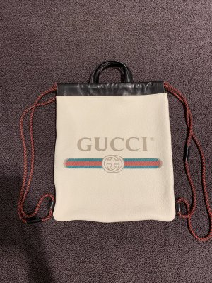 Gucci Trekking Backpack white
