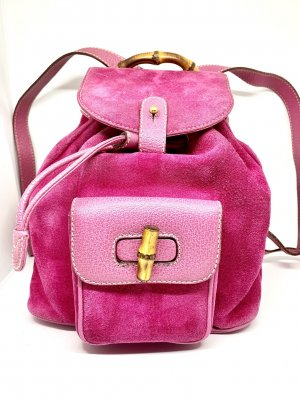Gucci Backpack pink-neon pink