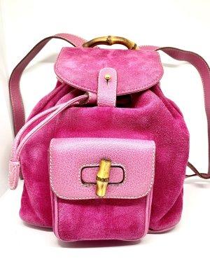 Gucci Rugzak roze-neonroos