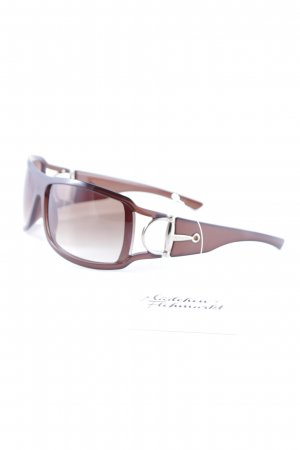 Gucci Round Sunglasses brown street-fashion look