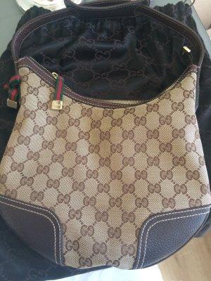 Gucci Handbag dark brown-brown