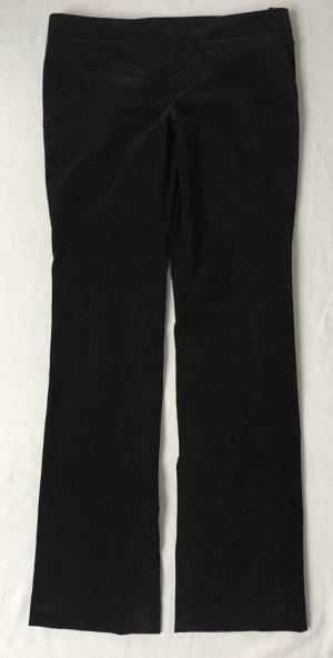 Gucci Pantalon pattes d'éléphant noir tissu mixte