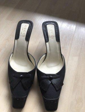 Gucci Sandalias cómodas negro