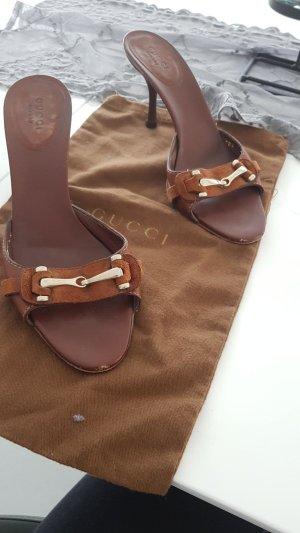 Gucci Sandalen Größe 37,5 mit Dustabg