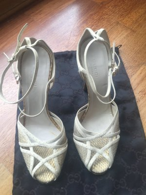 Gucci Sandals white-gold-colored