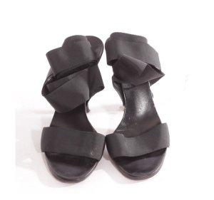 Gucci sandaletten gr. 37,5 schwarz Blogger