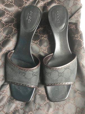 Gucci High-Heeled Sandals black-black brown
